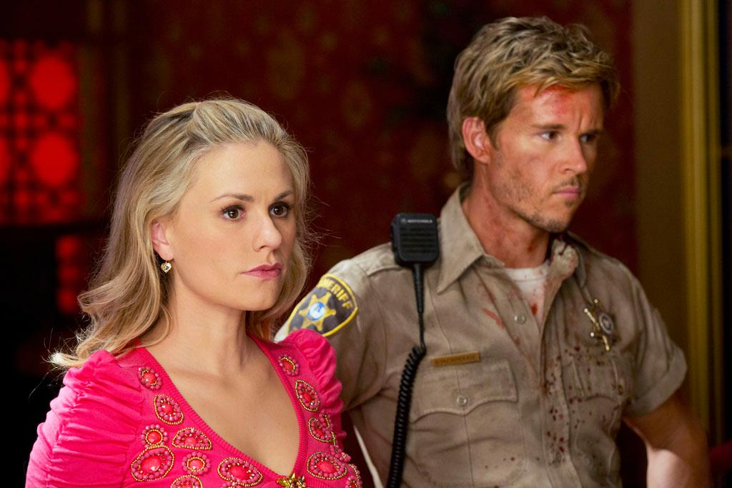"Anna Paquin and Ryan Kwanten in the ""True Blood"" episode, ""Sunset."""