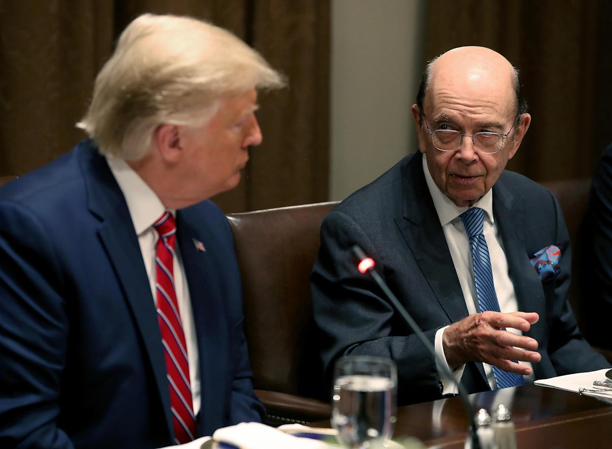 Wilbur Ross's latest storm: Reports he threatened to fire