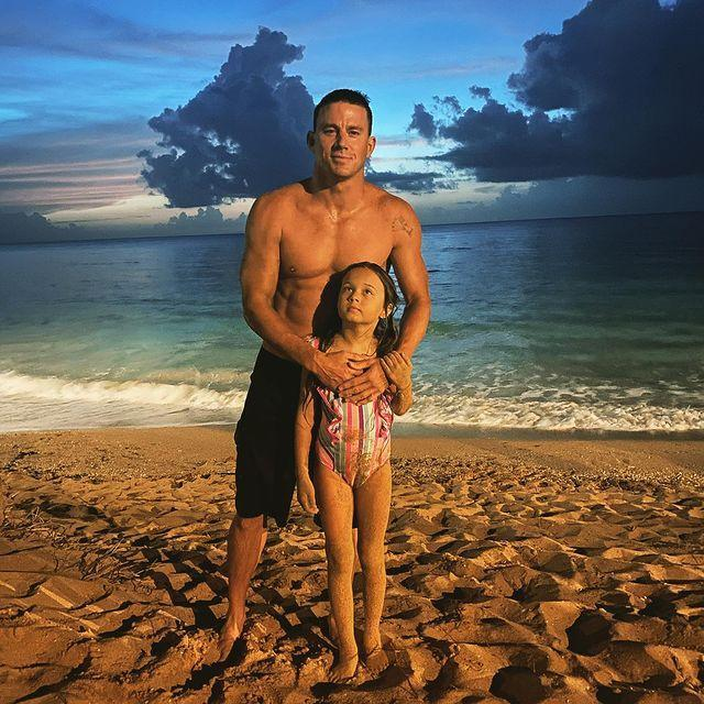 """<p>On Thursday, June 24 the actor shared a photo of himself and his eight-year-old daughter from his marriage to ex wife Jenna Dewan. The photo marks the first of Everly taken from the front that his fans have seen on social media as both actors have chosen to obscure their child's face or only share photos from the side of her face in previous years.</p><p>'You my littles are everything! You are my world and my heart,' the 41-year-old captioned the photo of himself wrapping his arms around his daughter on the beach.</p><p>'[Everly was] looking at the full moon in this pic and telling me the prophecy of the full moon mermaid and then we ran into the water and looked for her and played with glow sticks in the night water calling out to the mermaids. You said you touched a bald headed mermaid and saw a tail.'</p><p>'She is so gorgeous!! Looks like her daddy,' commented one fan on the post.</p><p><a href=""""https://www.instagram.com/p/CQhNuNwFOFs/"""" rel=""""nofollow noopener"""" target=""""_blank"""" data-ylk=""""slk:See the original post on Instagram"""" class=""""link rapid-noclick-resp"""">See the original post on Instagram</a></p>"""