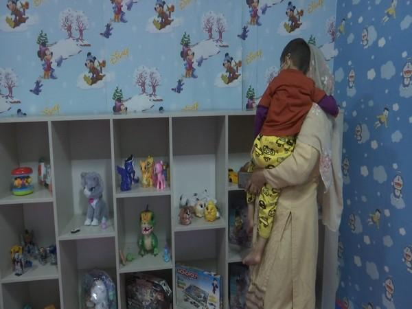 Toy library at Sher-E-Kashmir Institute of Medical Sciences Srinagar. (Photo/ANI)