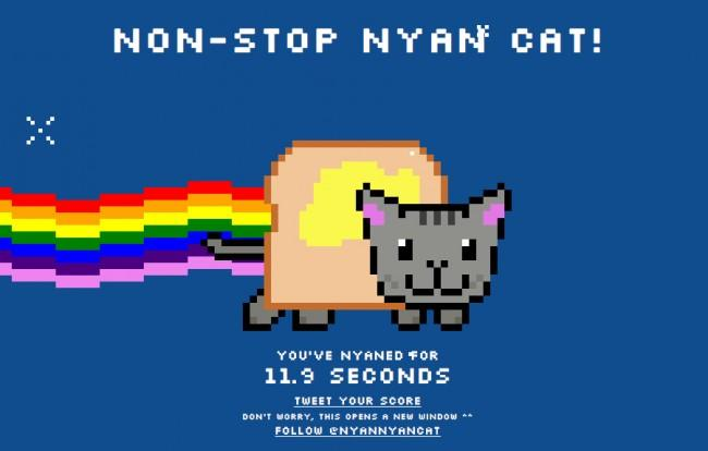 Nyan cat viral video gets inside heads of viewers