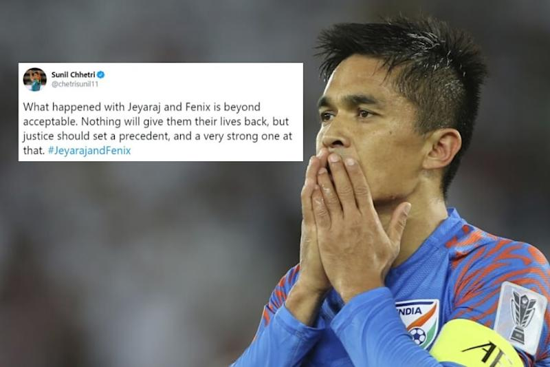 'What Happened With Jeyaraj and Fenix is Beyond Acceptable': Sunil Chhetri Calls for Justice
