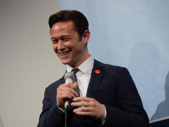 "Director Joseph Gordon-Levitt speaks to introduce the film ""Don Jon's Addiction"" during the 2013 SXSW Music, Film + Interactive Festival at the Paramount Theatre on March 11, 2013 in Austin, Texas."