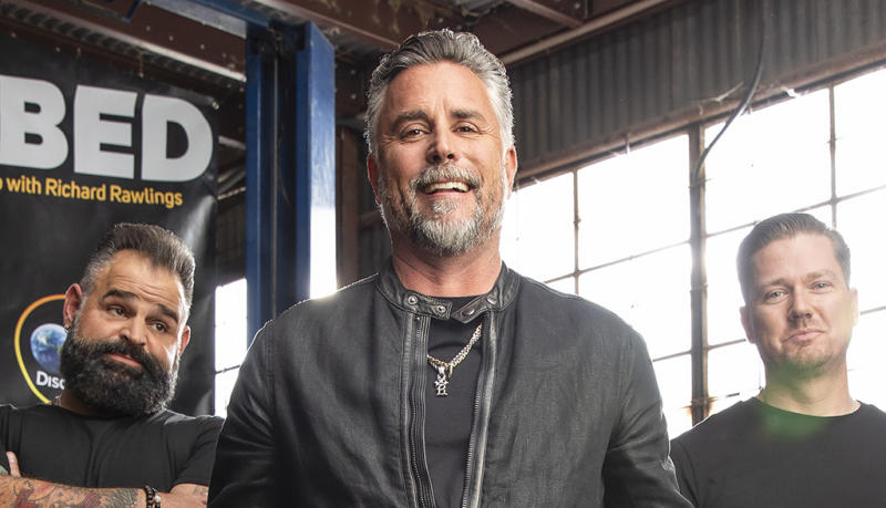 Garage Rehab Host Richard Rawlings Might Make A Yeezy Inspired Car