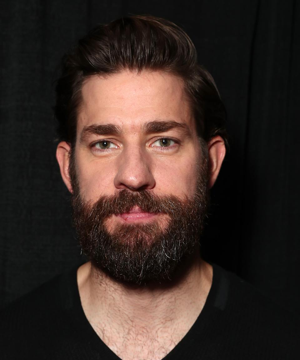 """<strong><h2>2016</h2></strong> Tom Clancy's <em>Jack Ryan</em> might not have growth like this, but Krasinski (and his character in <em>AQP</em> ) does. <span class=""""copyright"""">Photo: Todd Williamson/Getty Images.</span>"""