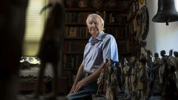 PHOTO: Forrest Fenn, an art collector, poses for a portrait at his home in Santa Fe, N.M., on June 17, 2016. (Nick Cote/The New York Times via Redux, FILE)