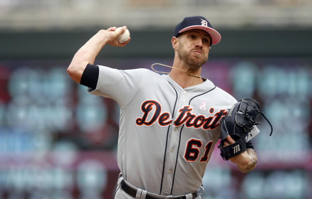 There have been talks about the New York Yankees bringing back Shane Greene. (AP)