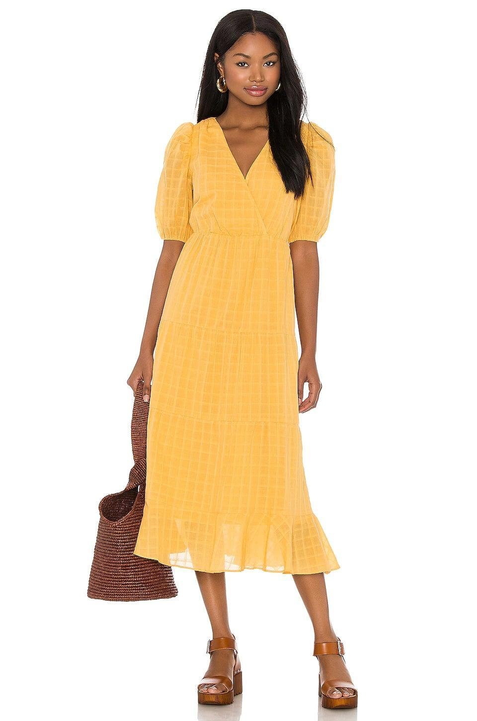 <p>This cheery <span>Heartloom Halia Dress in Marigold</span> ($119) is anything but mellow yellow.</p>