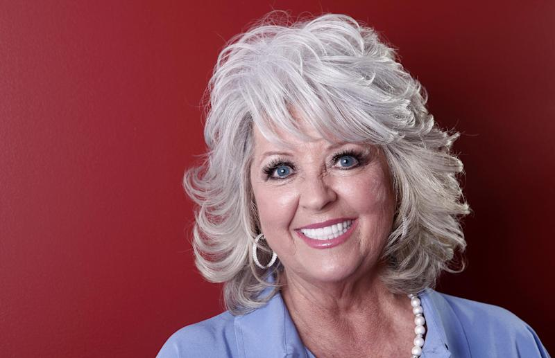 FILE - In this Tuesday, Jan. 17, 2012 photo, celebrity chef Paula Deen poses for a portrait in New York.  A month after being widely criticized for revealing she has diabetes, as well as a lucrative endorsement deal for a drug to treat it, Paula Deen says she's ready to show a lighter side to her famously fatty Southern-style cooking.  (AP Photo/Carlo Allegri)