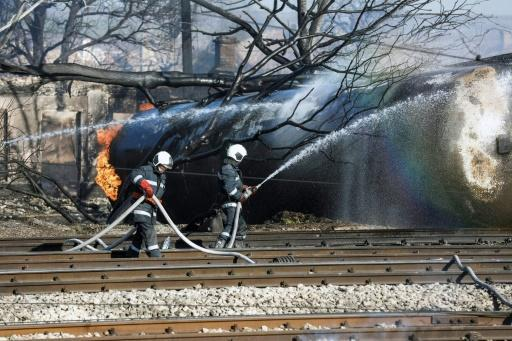 Five killed in blast as Bulgaria gas train derails