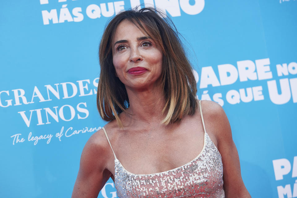 MADRID, SPAIN - JULY 18:  Maria Patiño attends 'Padre No Hay Mas Que Uno' Madrid Premiere on July 18, 2019 in Madrid, Spain. (Photo by Borja B. Hojas/WireImage)