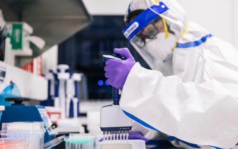 Amazon has developed its own coronavirus testing labs, including one in Manchester - Amazon/Amazon