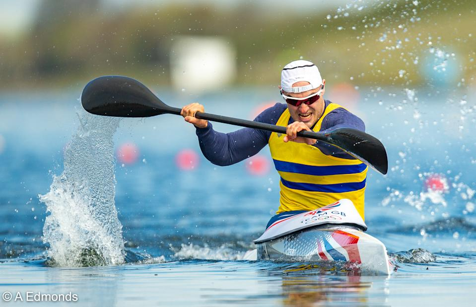 Liam Heath is hoping to successfully defend his K1 200m Olympic title at this summer's Tokyo Games © A Edmonds