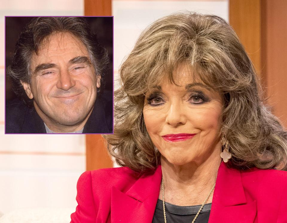 Dame Joan Collins defended her late ex-husband. Copyright: [Rex]