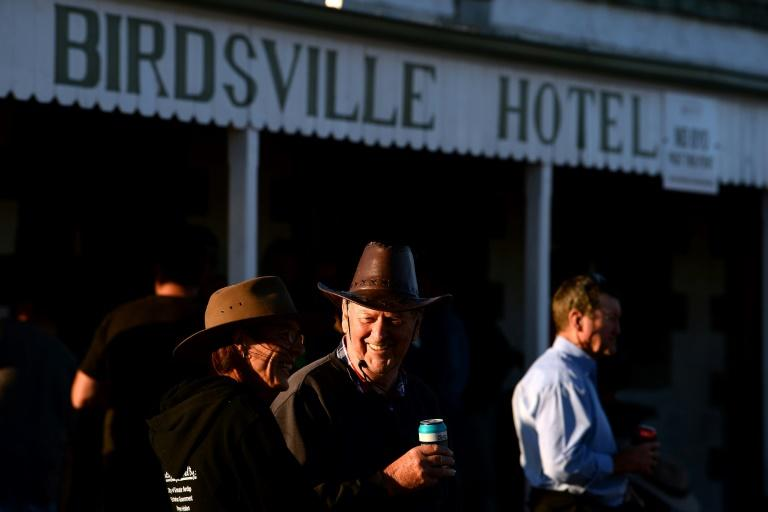 The 134-year-old Birdsville Hotel is the sole watering hole for the town of Birdsville, population: 140