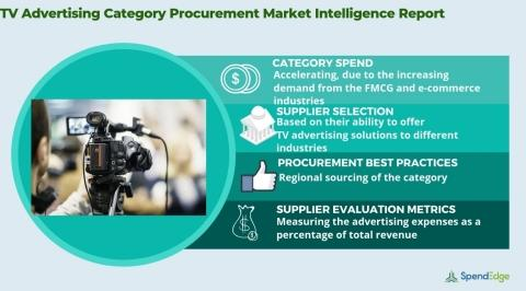TV Advertising Market Procurement Intelligence Report | TV Advertising Spend Management, TV Advertising Spend Analysis Insights Now Available from SpendEdge