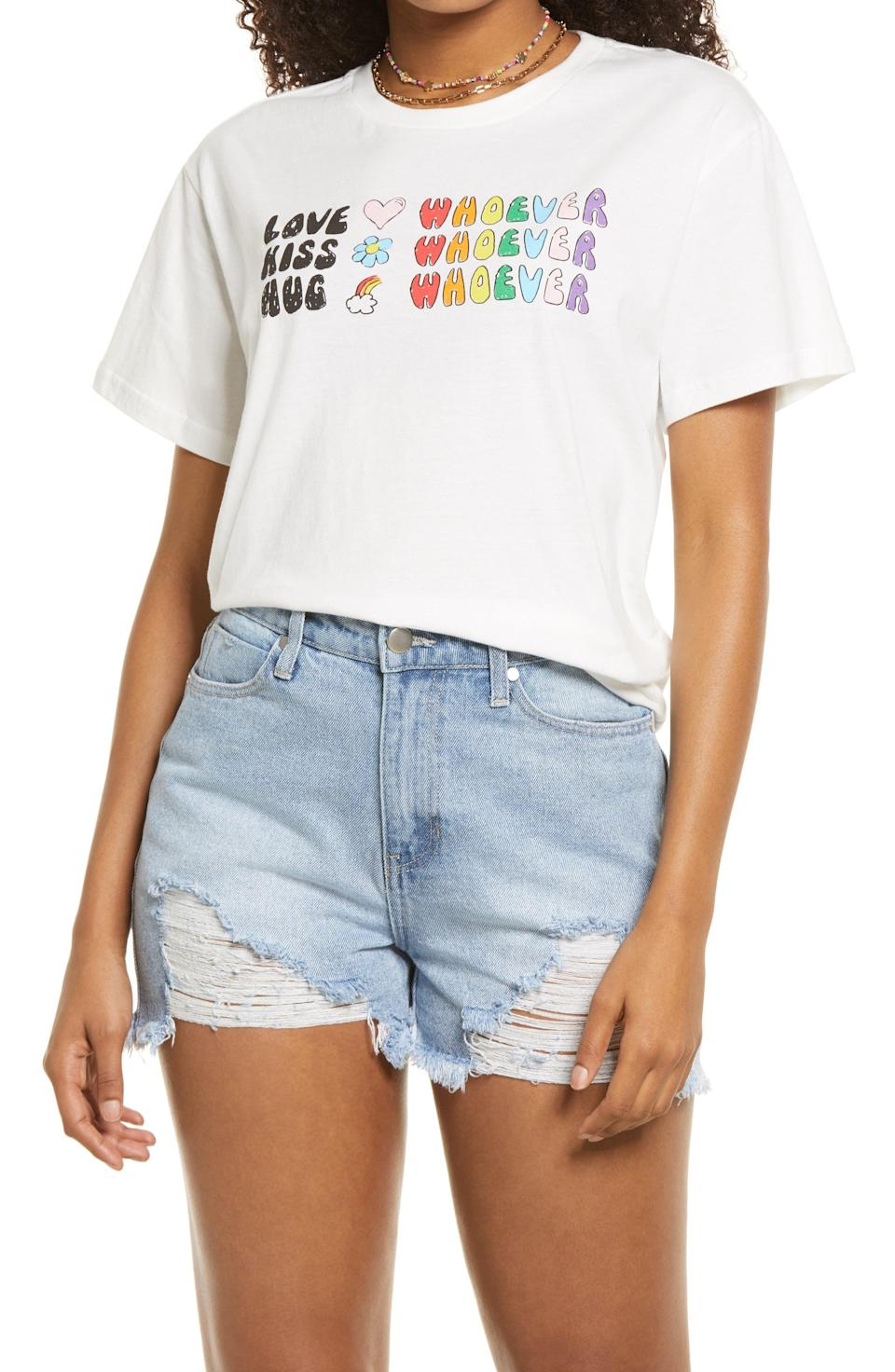 """<p><strong>BP</strong></p><p>nordstrom.com</p><p><strong>$35.00</strong></p><p><a href=""""https://go.redirectingat.com?id=74968X1596630&url=https%3A%2F%2Fwww.nordstrom.com%2Fs%2Fbp-be-proud-by-bp-gender-inclusive-pride-graphic-tee%2F5865331&sref=https%3A%2F%2Fwww.townandcountrymag.com%2Fstyle%2Fg36620407%2Fthe-weekly-covet-june-4-2021%2F"""" rel=""""nofollow noopener"""" target=""""_blank"""" data-ylk=""""slk:Shop Now"""" class=""""link rapid-noclick-resp"""">Shop Now</a></p>"""
