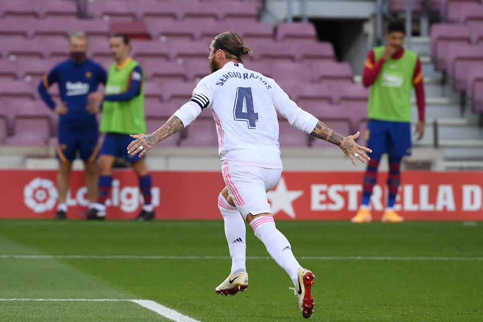 Ramos' goal proved crucialAFP via Getty Images