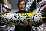 Cute cartoon animals have been at the heart of Hong Kong clothing brand Chickeeduck since 1990, but owner Herbert Chow is struggling to get his designs made