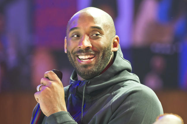 Kobe Bryant shared some perspective from his rookie year with a young Lakers team. (AP file photo)