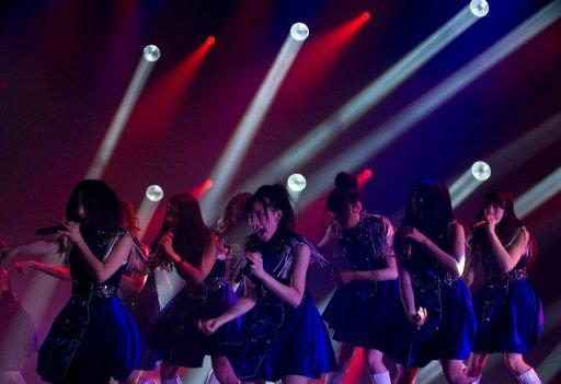 AKB48 is one of the world's highest grossing acts with more than $200 million in CD and DVD sales last year