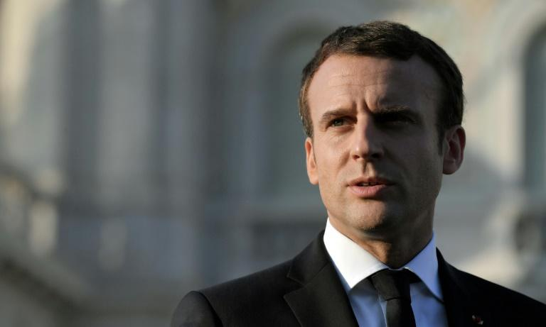 In a statement Macron voiced his