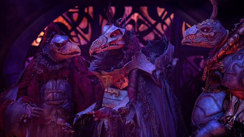 The evil Skeksis return to terrorise a new generation of kids in Netflix prequel series 'The Dark Crystal: Age of Resistance'. (Credit: John Wilson/Netflix)
