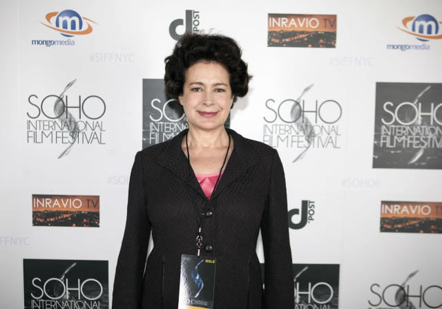 """Sean Young, at the 2015 SoHo International Film Festival, has resolved her headline-making drama related to """"stolen"""" laptops. (Photo: Santiago Felipe/Getty Images)"""