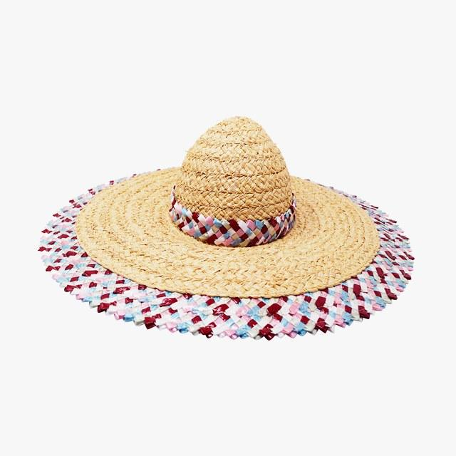 b48ad9a703acf4 This Summer's Best Sun Hats Are Supersized