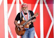 "<p>Al broke out the six-string and Willie Nelson's iconic braids to mimic the ""Always on My Mind"" singer's legendary look. </p>"
