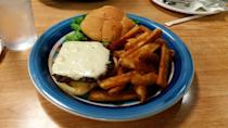 """<p><a href=""""https://www.yelp.com/biz/shellies-country-cafe-helena-4"""" rel=""""nofollow noopener"""" target=""""_blank"""" data-ylk=""""slk:Shellie's Country Cafe"""" class=""""link rapid-noclick-resp"""">Shellie's Country Cafe</a> in Helena</p><p>Shellie's feeds big portions to hungry truckers 24 hours a day, whether they're craving breakfast sandwiches or prime rib. The locals know to top off their meal with a Marionberry milkshake.</p>"""