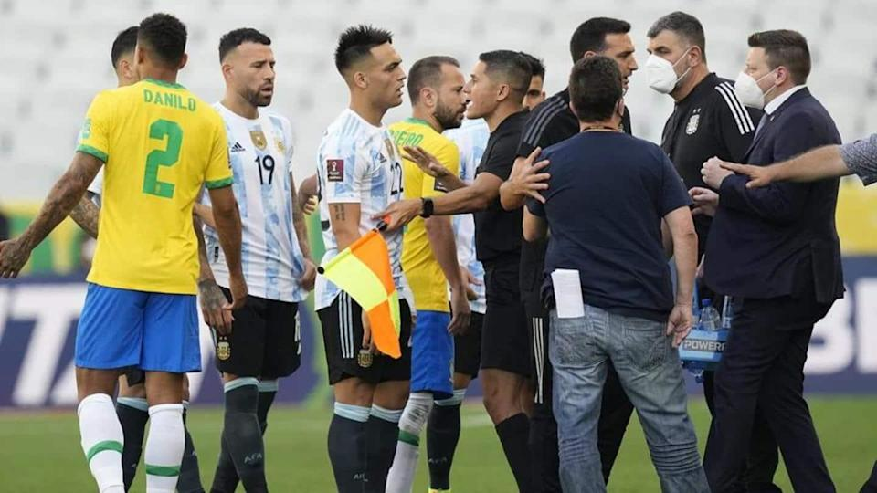 World Cup Qualifiers: Brazil-Argentina match suspended over COVID-19 dispute
