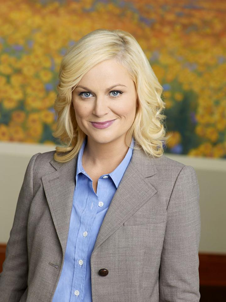 "Amy Poehler stars as Leslie Knope in ""Parks and Recreation."""