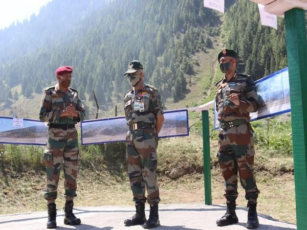 Vice Chief of Army Staff (VCOAS) Lieutenant General CP Mohanty is on a three-day visit to the forward areas in Jammu and Kashmir of Northern Command.