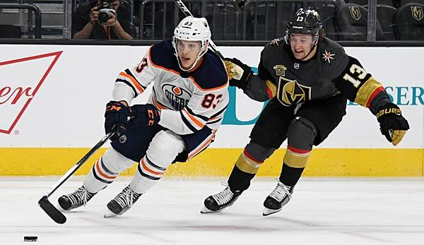 NHL: Oilers schlagen Golden Knights - Derby in LA und NY