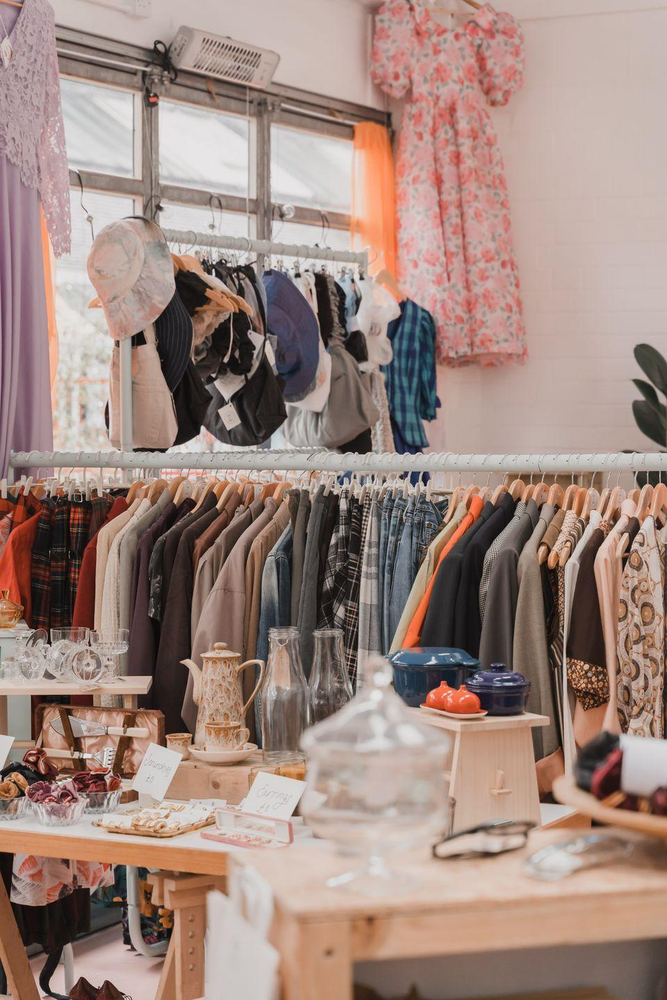 """<p>Not only is Soul and Flare both a physical and digital store, but it also sells reworked pieces as well as straight-up vintage ones. </p><p>We're obsessed with the upcycled shirt dresses founder Gay Bennet envisions.</p><p><a class=""""link rapid-noclick-resp"""" href=""""https://soulandflare.co.uk/"""" rel=""""nofollow noopener"""" target=""""_blank"""" data-ylk=""""slk:SHOP SOUL AND FLARE"""">SHOP SOUL AND FLARE</a></p>"""