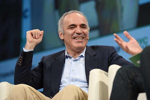 Garry Kasparov (Photo: Noam Galai/Getty Images)