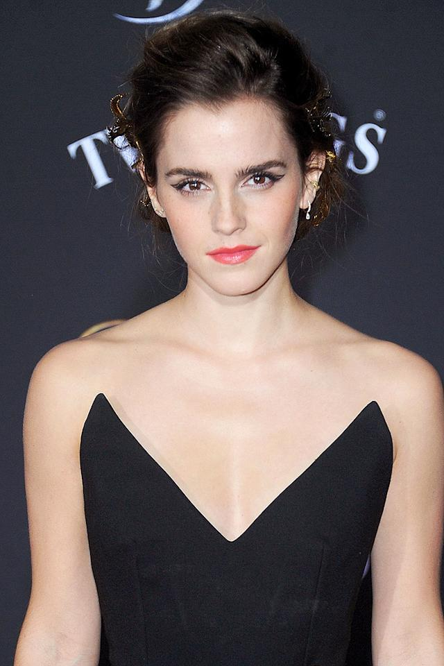 """<p>For the <i>Beauty and the Beast</i> actress, selfies with fans are a no-no - but for a reason you might not be thinking of. """"For me, it's the difference between being able to have a life or not,"""" <a rel=""""nofollow"""" href=""""http://www.vanityfair.com/hollywood/2017/02/emma-watson-cover-story"""">Watson told <i>Vanity Fair</i></a>. """"If someone takes a photograph of me and posts it, within two seconds they've created a marker of exactly where I am within 10 meters. They can see what I'm wearing and who I'm with. I just can't give that tracking data.""""</p>"""