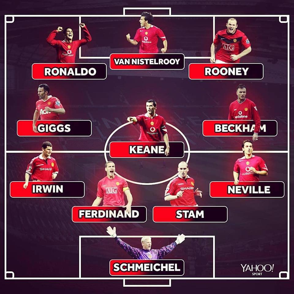Here is the XI Scholes picked out.