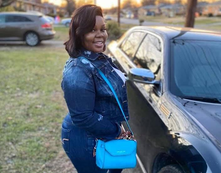 """Breonna Taylor was shot and killed while police were executing a warrant at her house March 13. <span class=""""copyright"""">(Taylor family)</span>"""