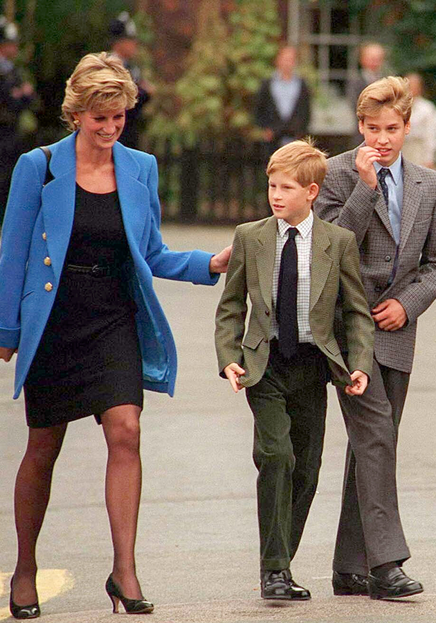 Prince William said he and Harry feel like they let their mother down when they were younger. Photo: Getty