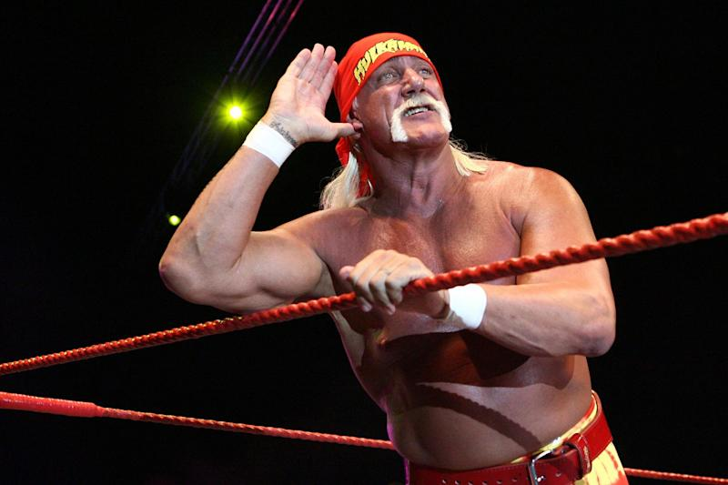 Hulk Hogan was suspended from WWE in 2015: Paul Kane/Getty Images