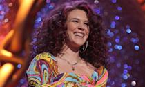 """English songstress Joss Stone turned up to the 2007 Brits not seeming quite herself; mainly because she was speaking <a href=""""https://www.youtube.com/watch?v=xJWO5CLo4zI"""" rel=""""nofollow noopener"""" target=""""_blank"""" data-ylk=""""slk:with a bizarre American-accented twang"""" class=""""link rapid-noclick-resp"""">with a bizarre American-accented twang</a>. The Dover-born star also delivered a confusing pre-amble as she wobbled about the stage, even doing a bit of singing, before presenting the award for Best Male Artist to James Morrison. (PA)"""