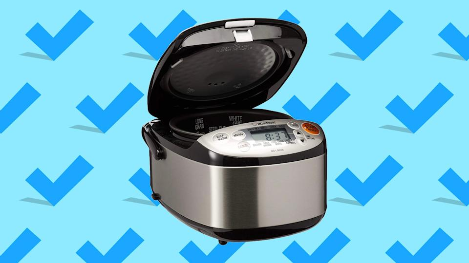 This popular rice cooker is a bargain at this price point.