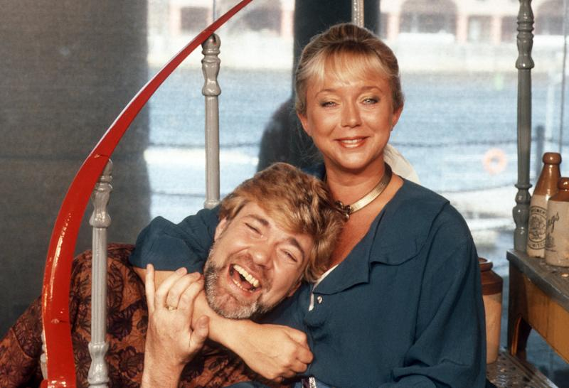 The 'Stars In Their Eyes' presenter stepped in for Richard and Judy with Sarah Kennedy back in the 1990s.