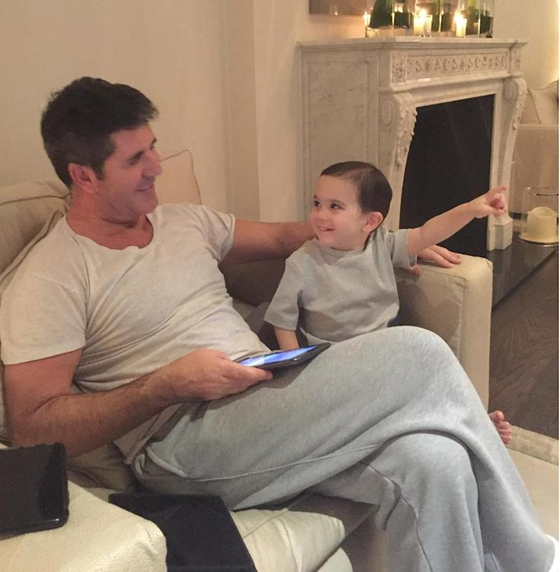 Simon Cowell: 'Baby Eric Is My Right Hand Man'