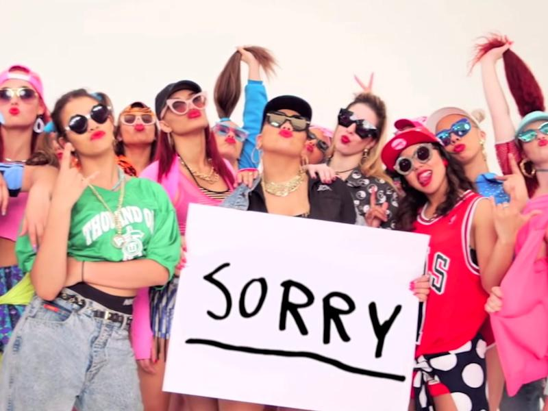 justin bieber sorry video