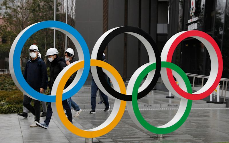 Olympic rings at Tokyo -Team GB to be at full strength for rearranged Tokyo Games as Government confirms Olympic funding - AP