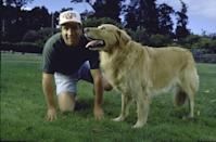 """<p>Everyone knows that dogs are truly a dad's best friend. In 1998, golden retrievers and labrador retrievers were the <a href=""""https://www.goodhousekeeping.com/life/pets/g5138/best-family-dogs/"""" rel=""""nofollow noopener"""" target=""""_blank"""" data-ylk=""""slk:most popular dog breeds"""" class=""""link rapid-noclick-resp"""">most popular dog breeds</a> in the country. </p>"""