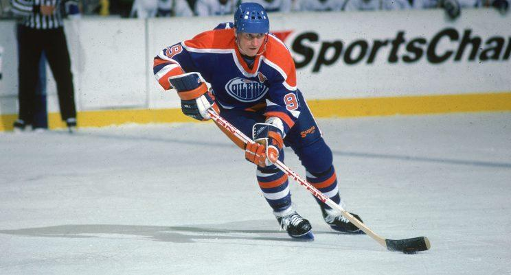 Wayne Gretzky holds over 60 NHL records, including most assists in one game with seven. (Bruce Bennett/Getty Images)